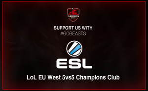 "ESL ""LoL EU West 5vs5 Champions Club"""