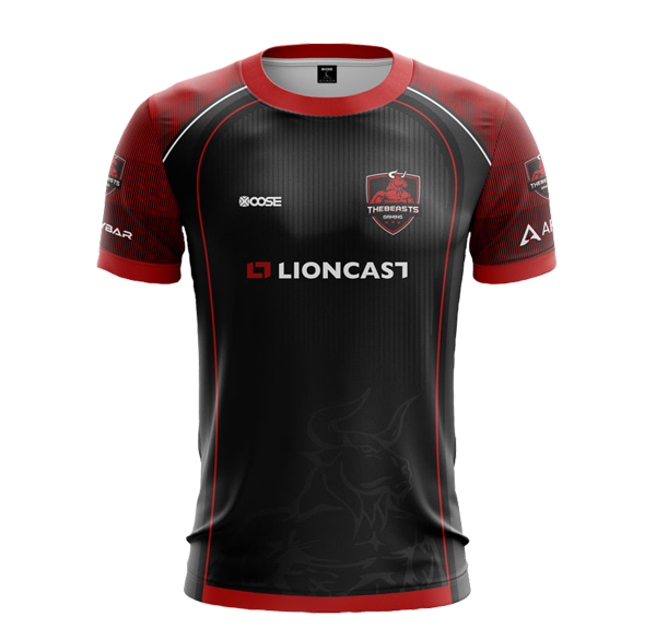 TheBeasts Gaming Jersey2020