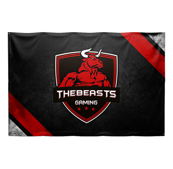 TheBeasts Gaming Flagge